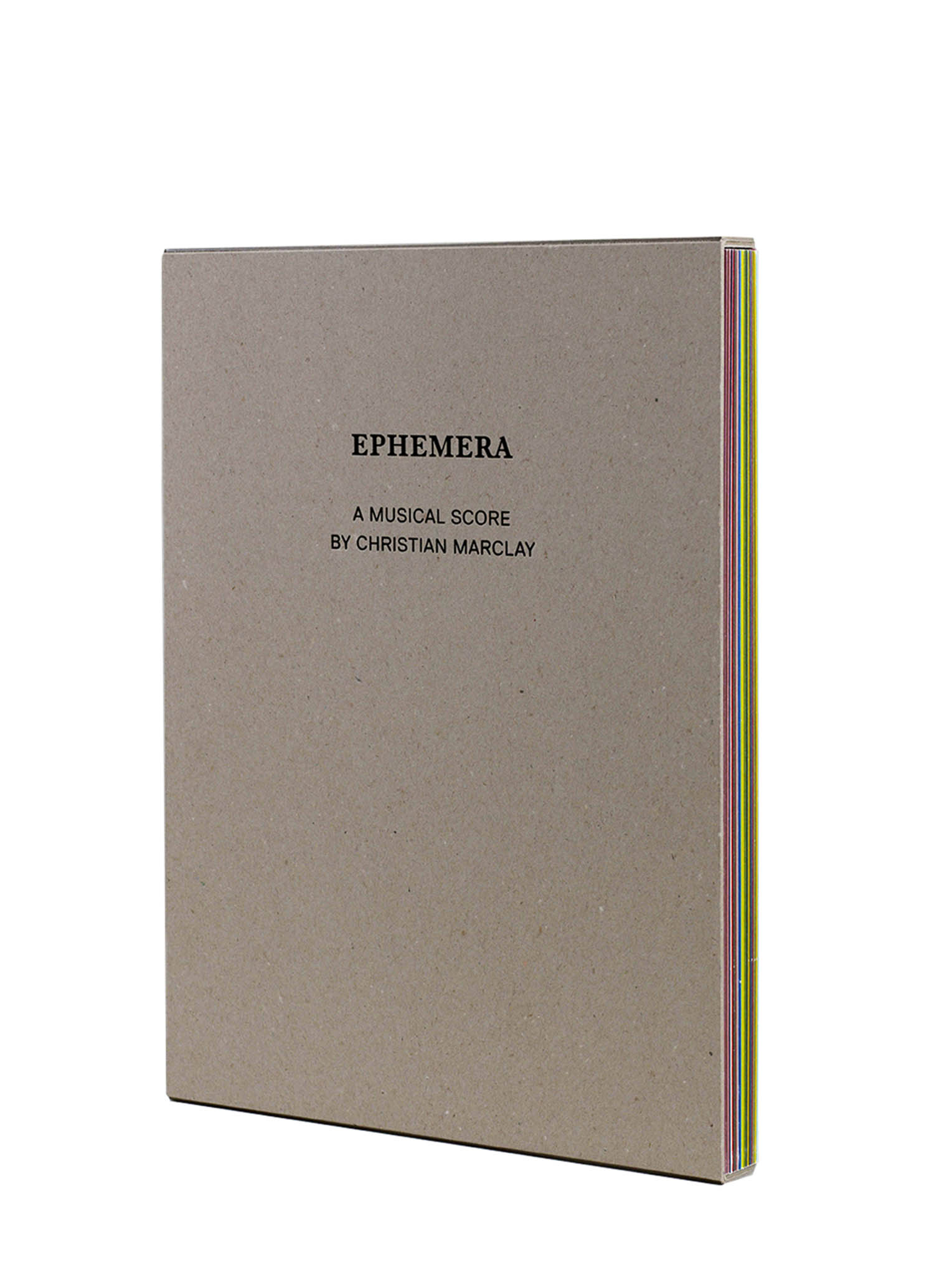 Christian Marclay - Ephemera, 2009