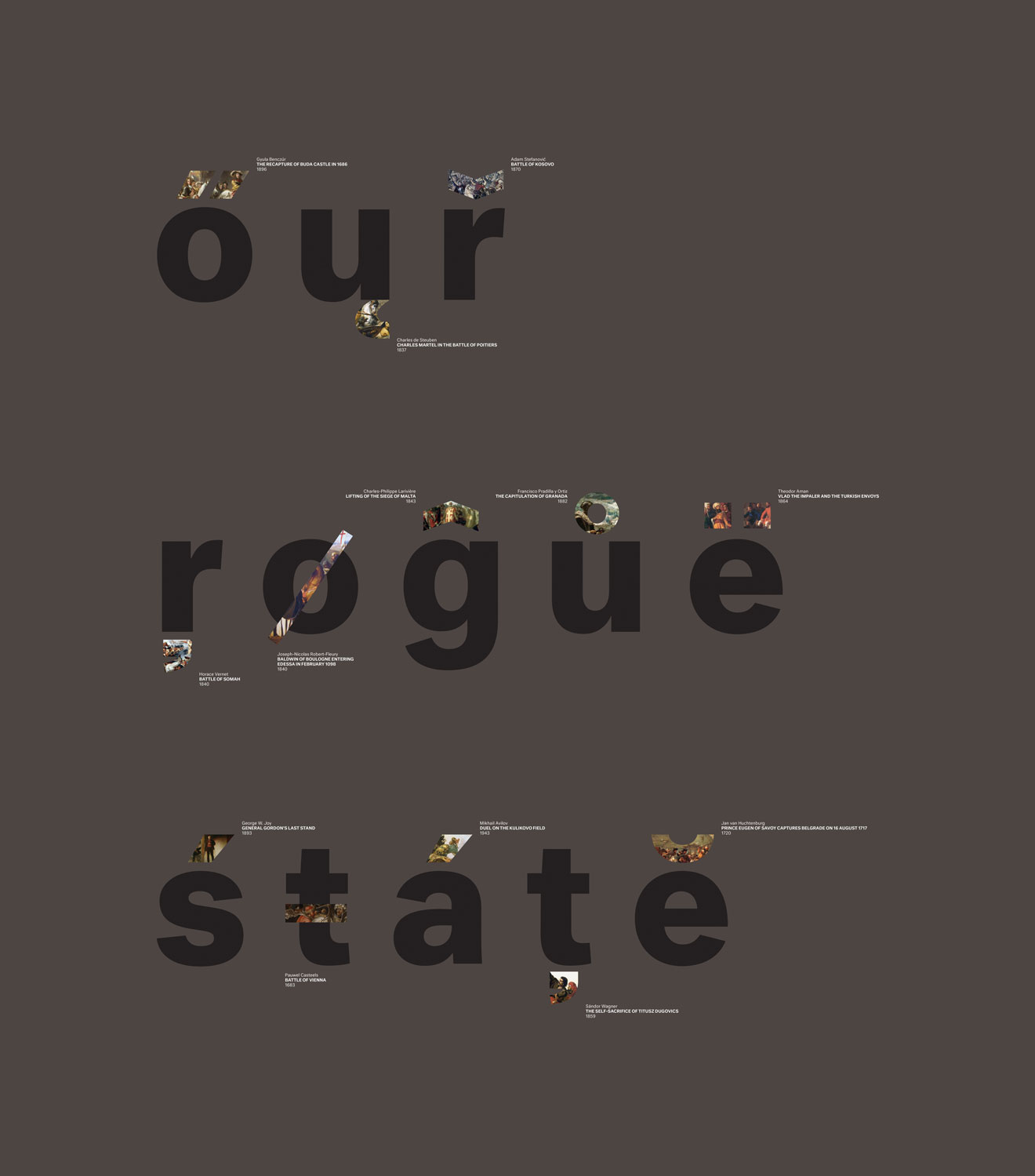 Ferenc Gróf - Our Rogue State, 2015