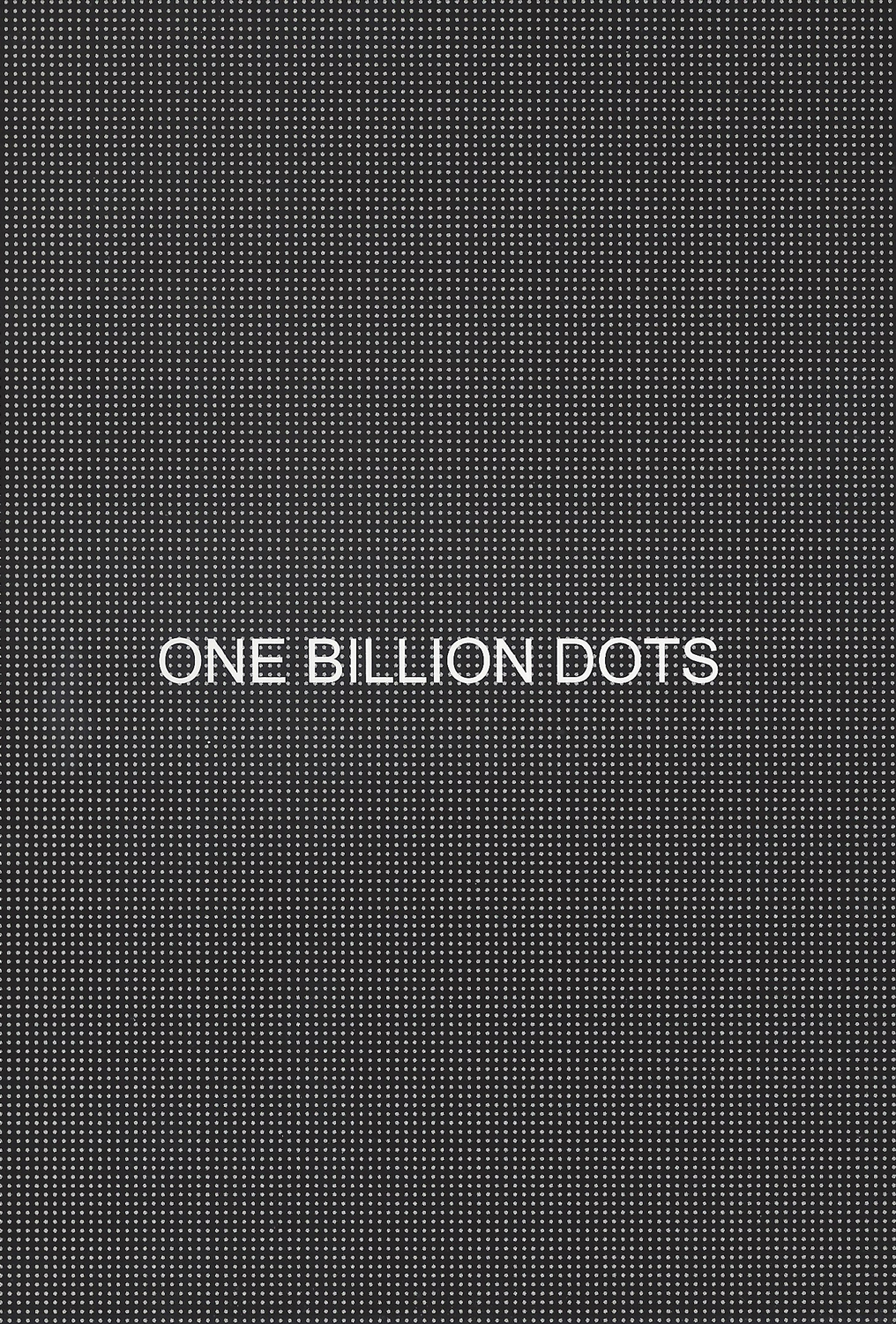 Robert Barry - One Billion Dots, 2008