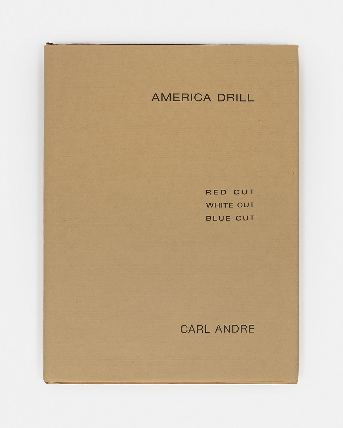 America drill (signed), 1963/2003 - Additional view