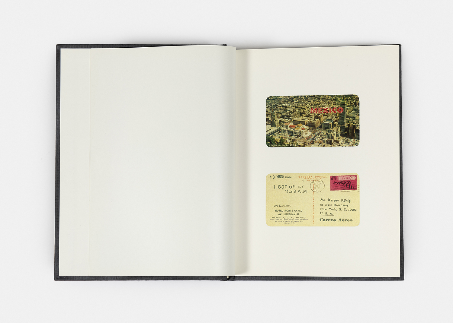 On Kawara - I GOT UP, 1968-79/2008