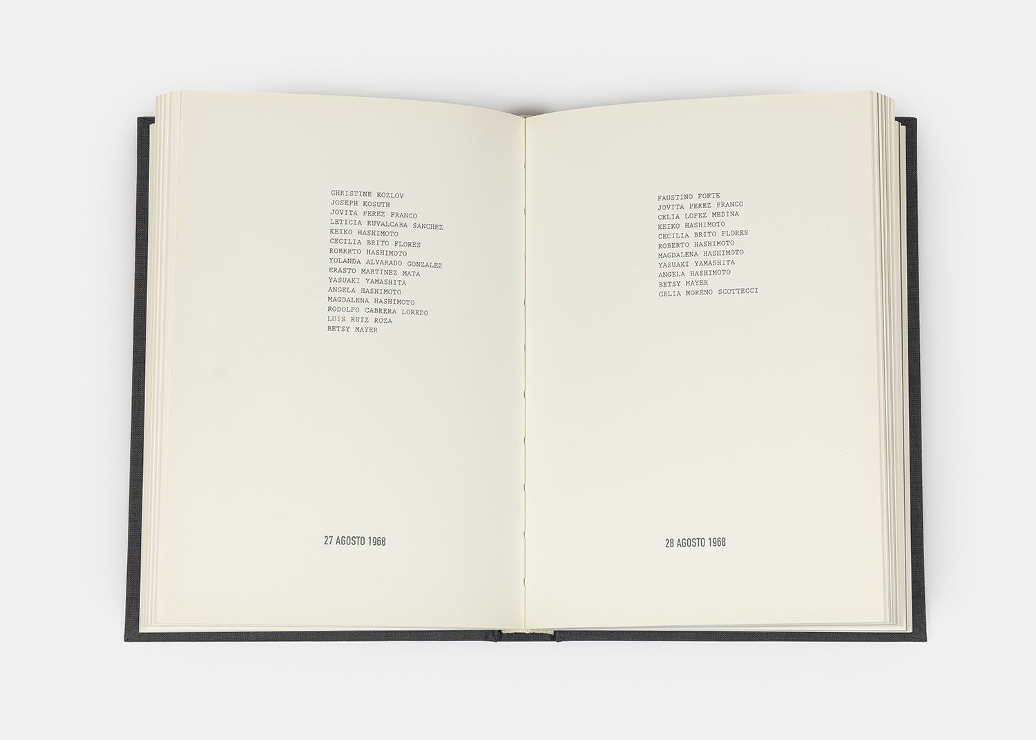 On Kawara - I MET, 1968-79/2004