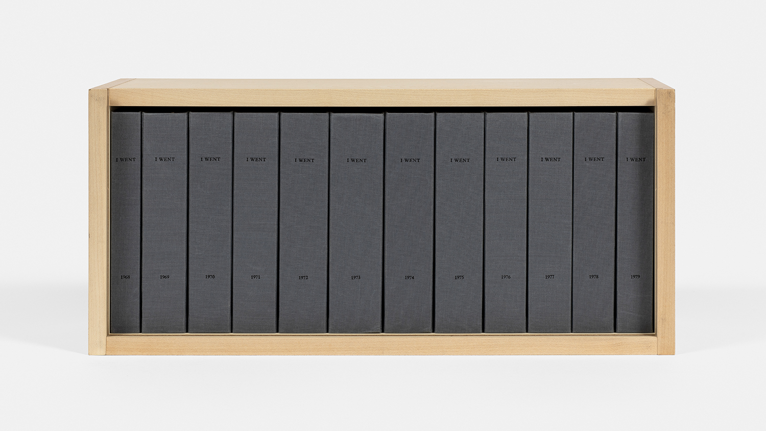 On Kawara - I WENT, 1968-79/2007